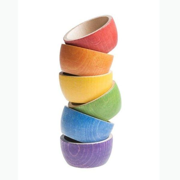 Grapat | 12 Coloured Bowls - Alex and Moo