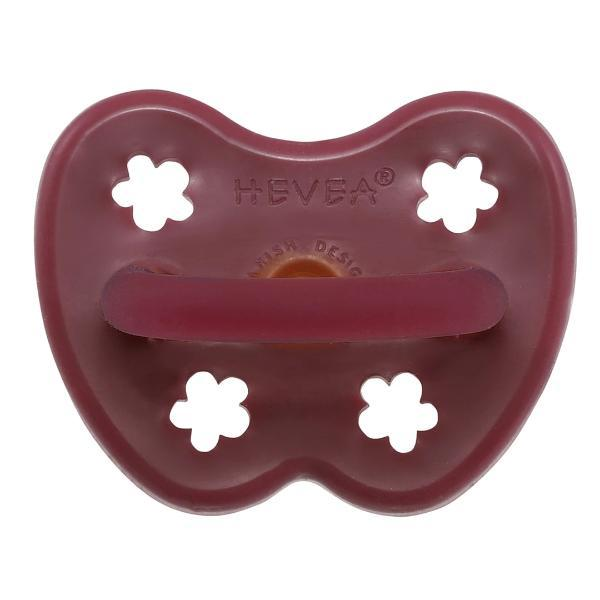 Hevea | Round Coloured Pacifier/Dummy - 3-36 Months - Alex and Moo