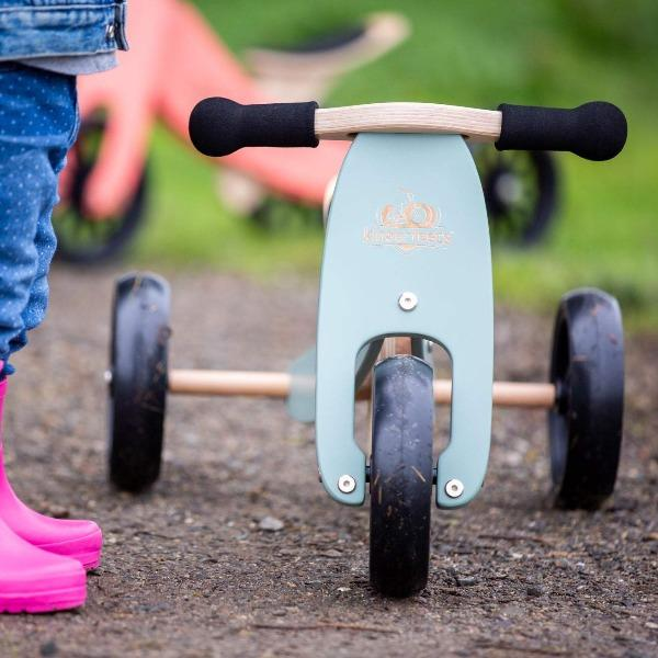 Kinderfeets | Tiny Tot Tricycle and Balance Bike 2 in 1 - Sage - Alex and Moo
