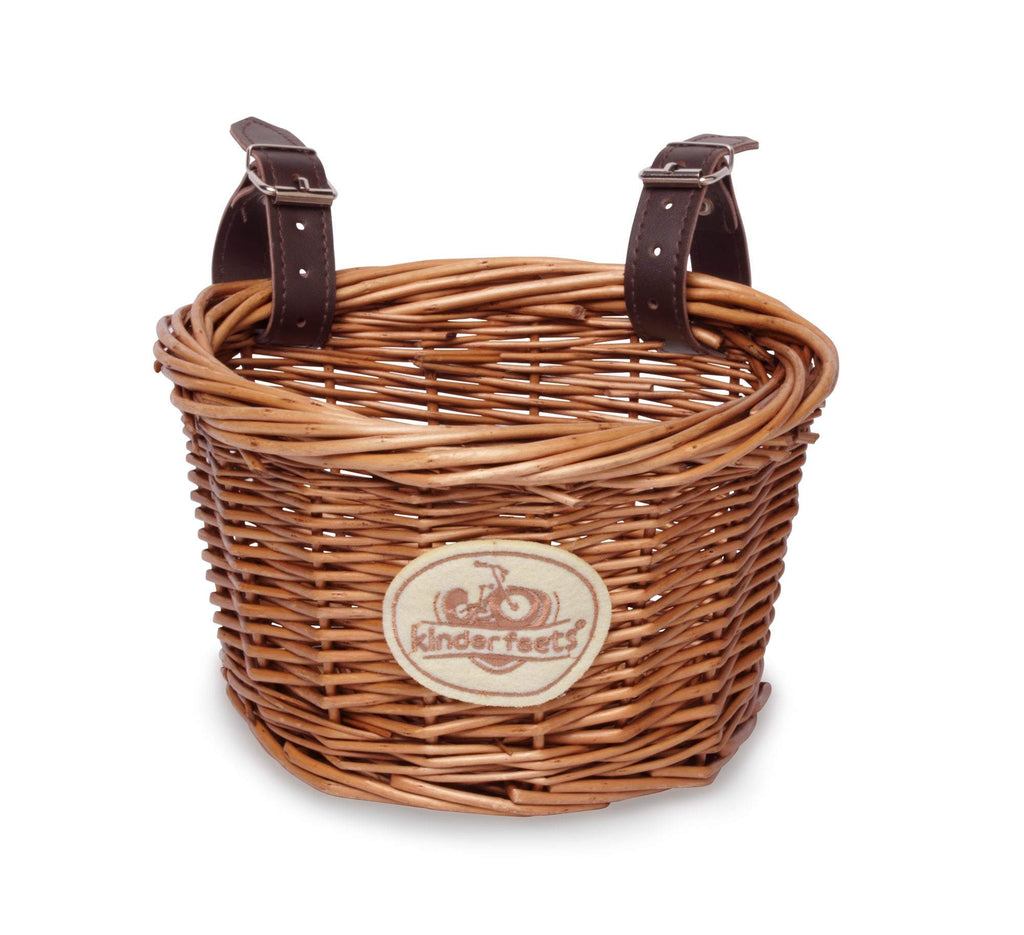 Kinderfeets | Wicker Bike Basket - Alex and Moo