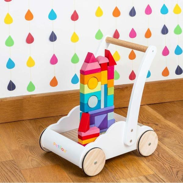 Le Toy Van | Petilou Rainbow Cloud Walker - Alex and Moo