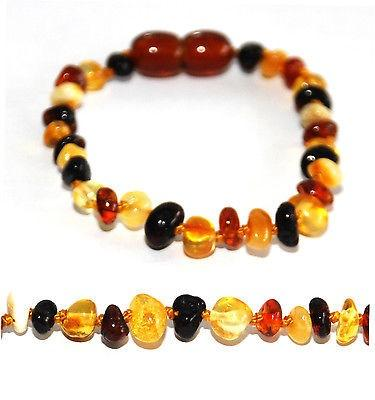 Nature's Child | Baltic Amber Bracelet/Anklet - Alex and Moo