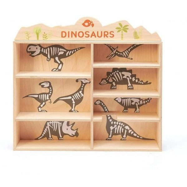 Tender Leaf Toys | Dinosaur Set - Alex and Moo