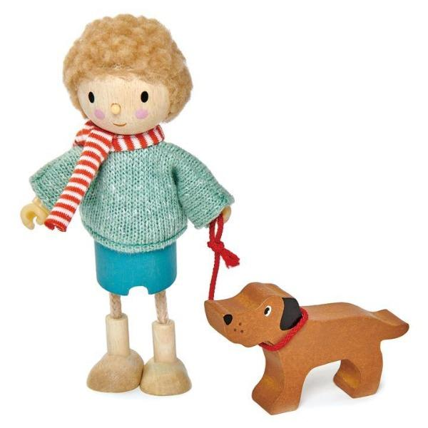 Tender Leaf Toys | Mr Goodwood and his Dog - Alex and Moo