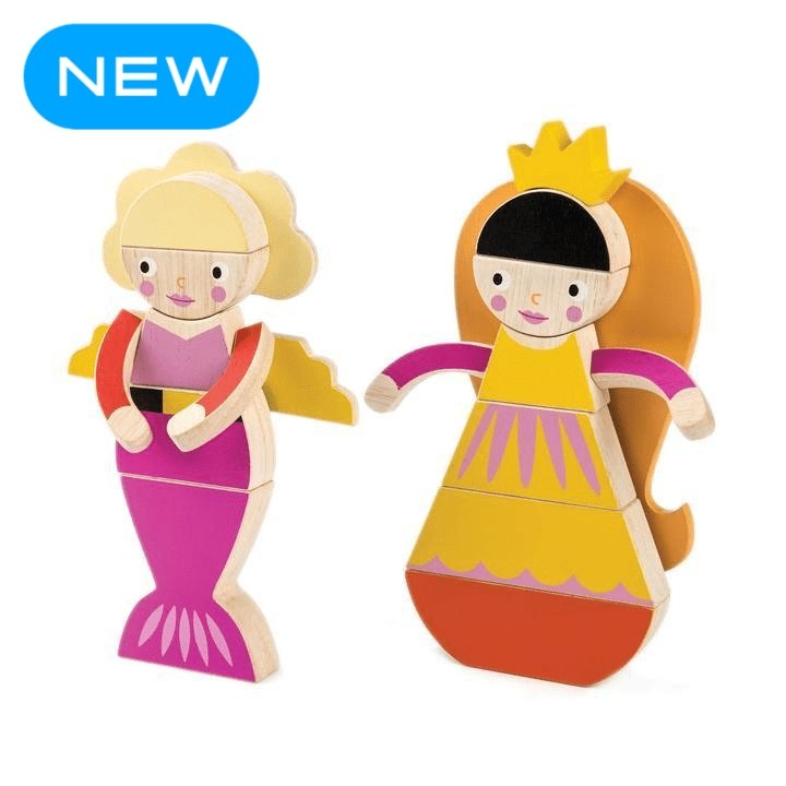 Tender Leaf Toys | Princess Magblocs - Alex and Moo