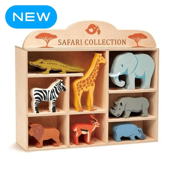 Tender Leaf Toys | Safari Collection - Alex and Moo