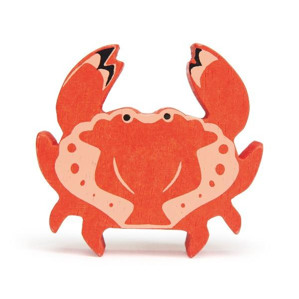 Tender Leaf Toys | Wooden Animals - Crab - Alex and Moo