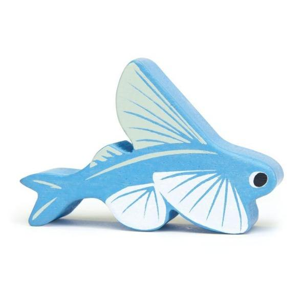 Tender Leaf Toys | Wooden Animals - Fish - Alex and Moo
