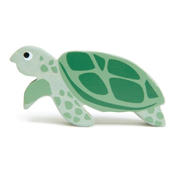 Tender Leaf Toys | Wooden Animals - Sea Turtle - Alex and Moo