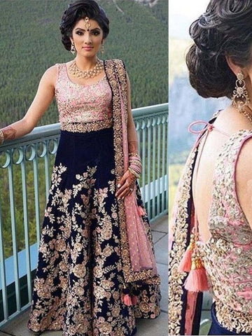 Latest Indian Chiffon Unstitched Designer Lehenga Choli