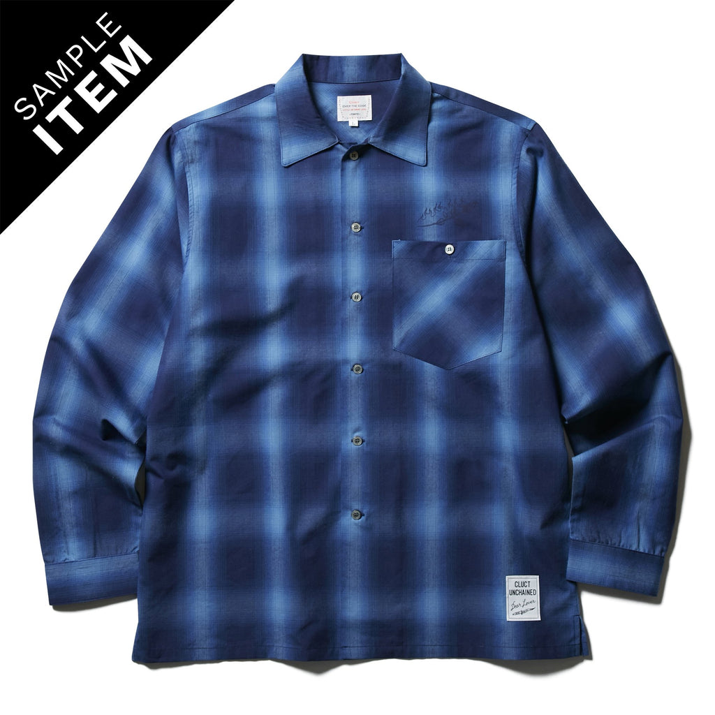 L/S SHADOW PLAID SHIRT_SAMPLE