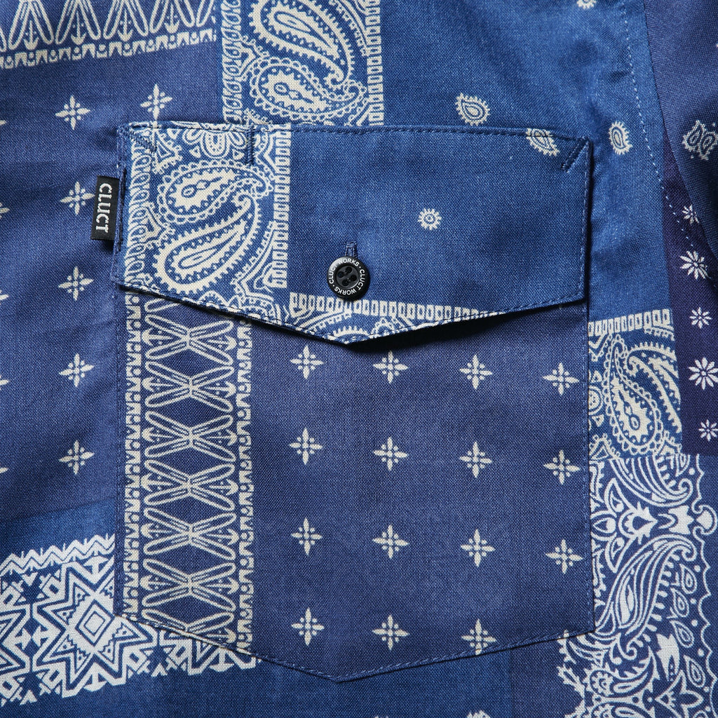 S/S BANDANA SHIRT_SAMPLE