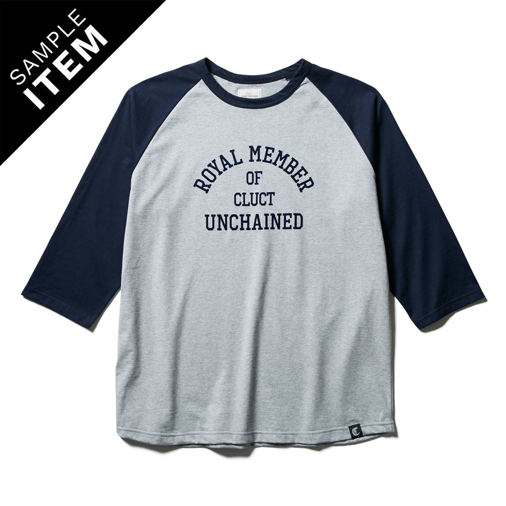 3/4 RAGLAN TEE_SAMPLE