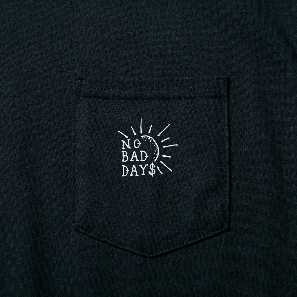 L/S PKT TEE NO BAD DAYS_SAMPLE