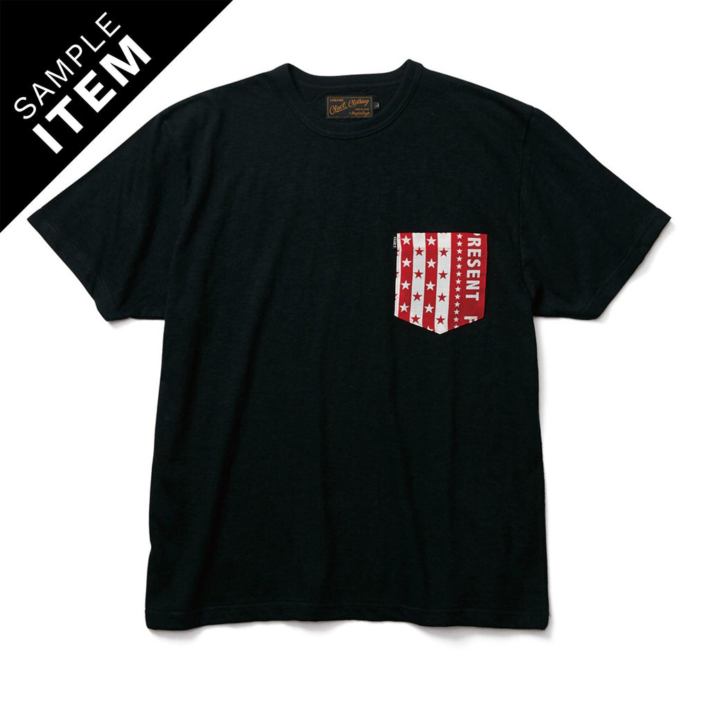 ORIGINAL BANDANA PKT TEE_SAMPLE