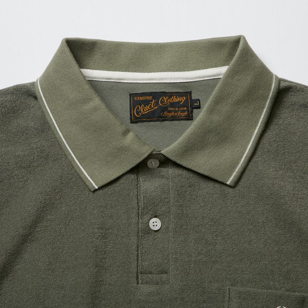 PILE POLO SHIRT_SAMPLE