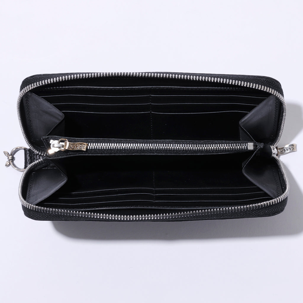 ZIP LEATHER WALLET 02959 - CLUCT