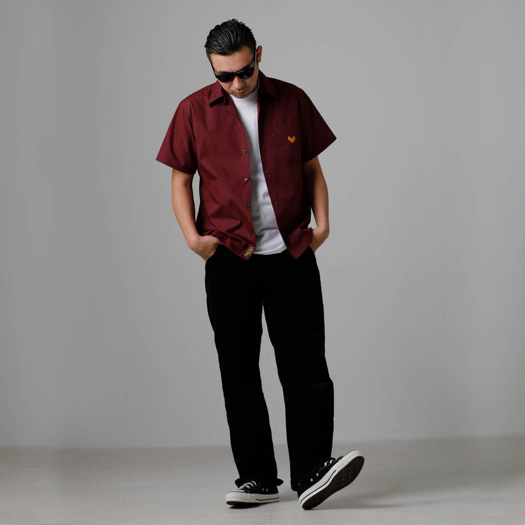 S/S SOLID SHIRT 03015