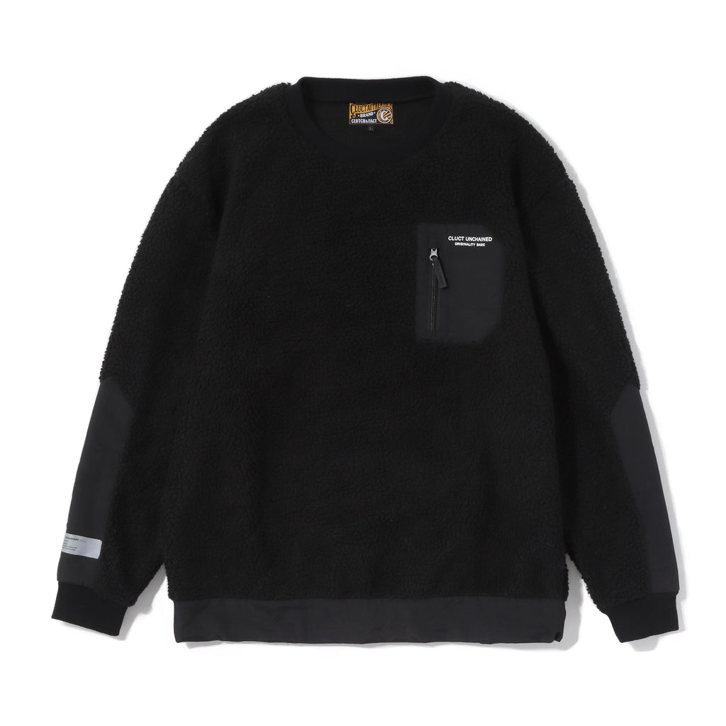 CLT-FLEECE CREW 04122 - CLUCT