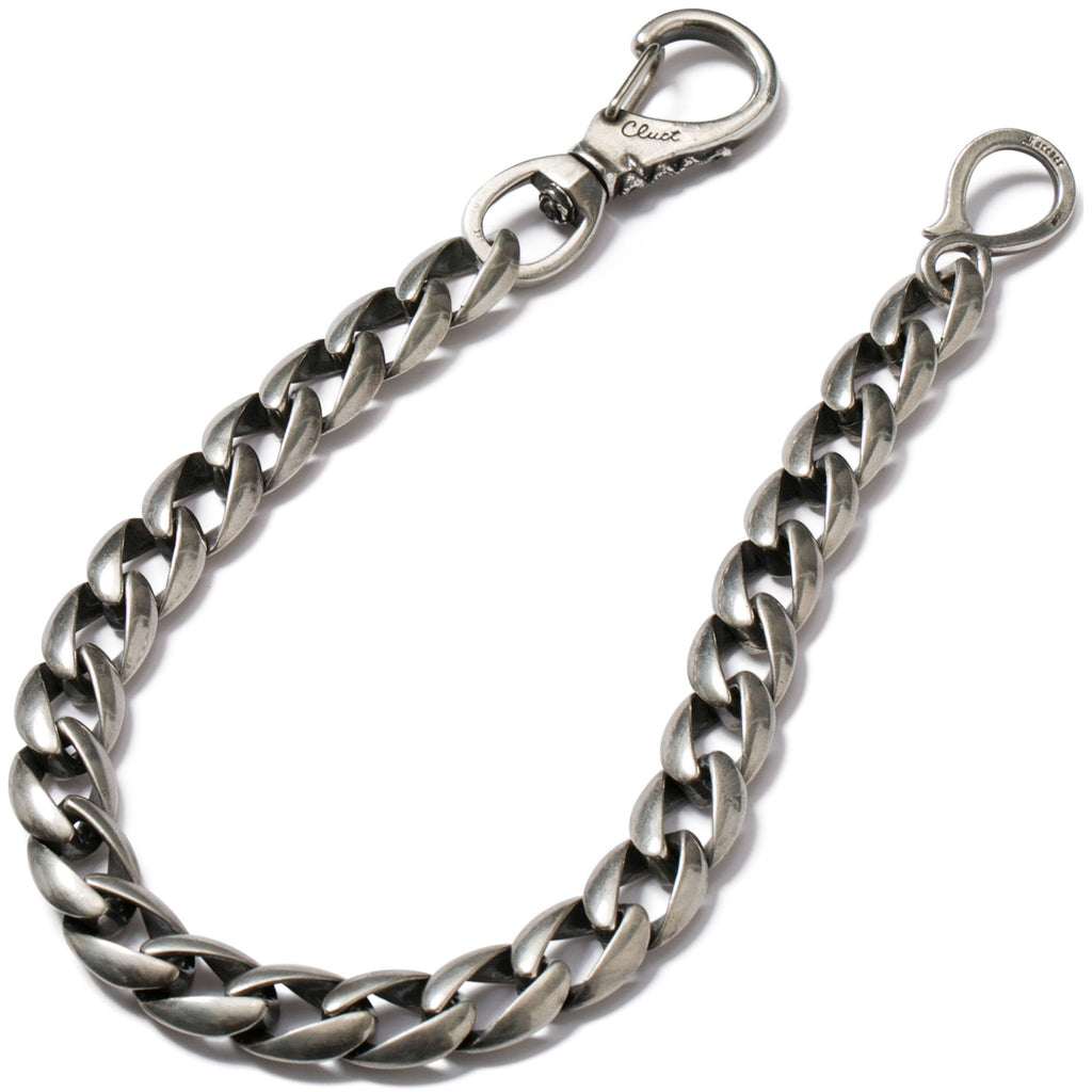 SILVER WALLET CHAIN - CLUCT