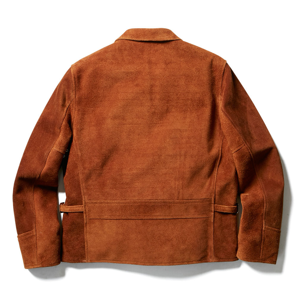 SUEDE JACKET(BROWN)