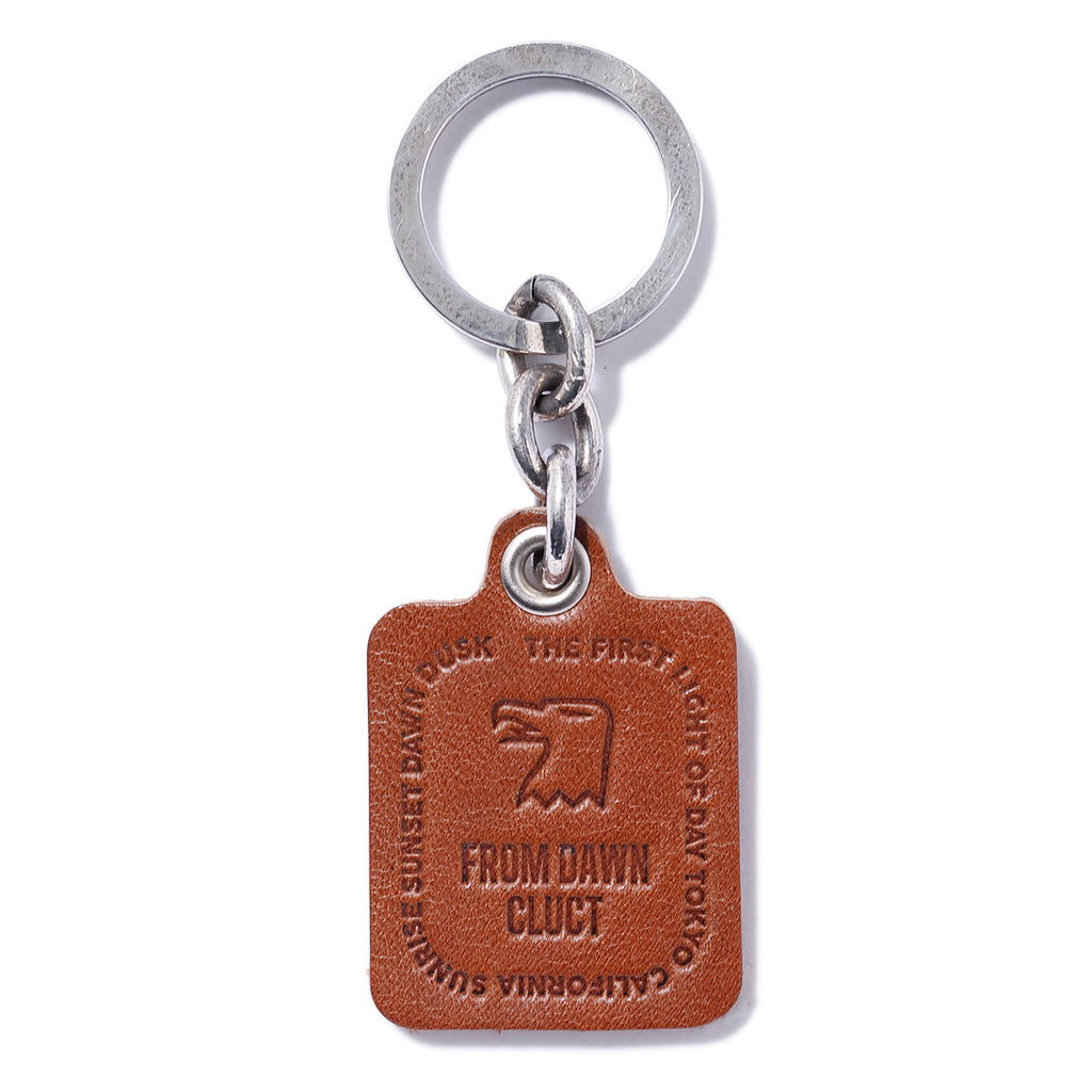 LEATHER KEY RING 03061