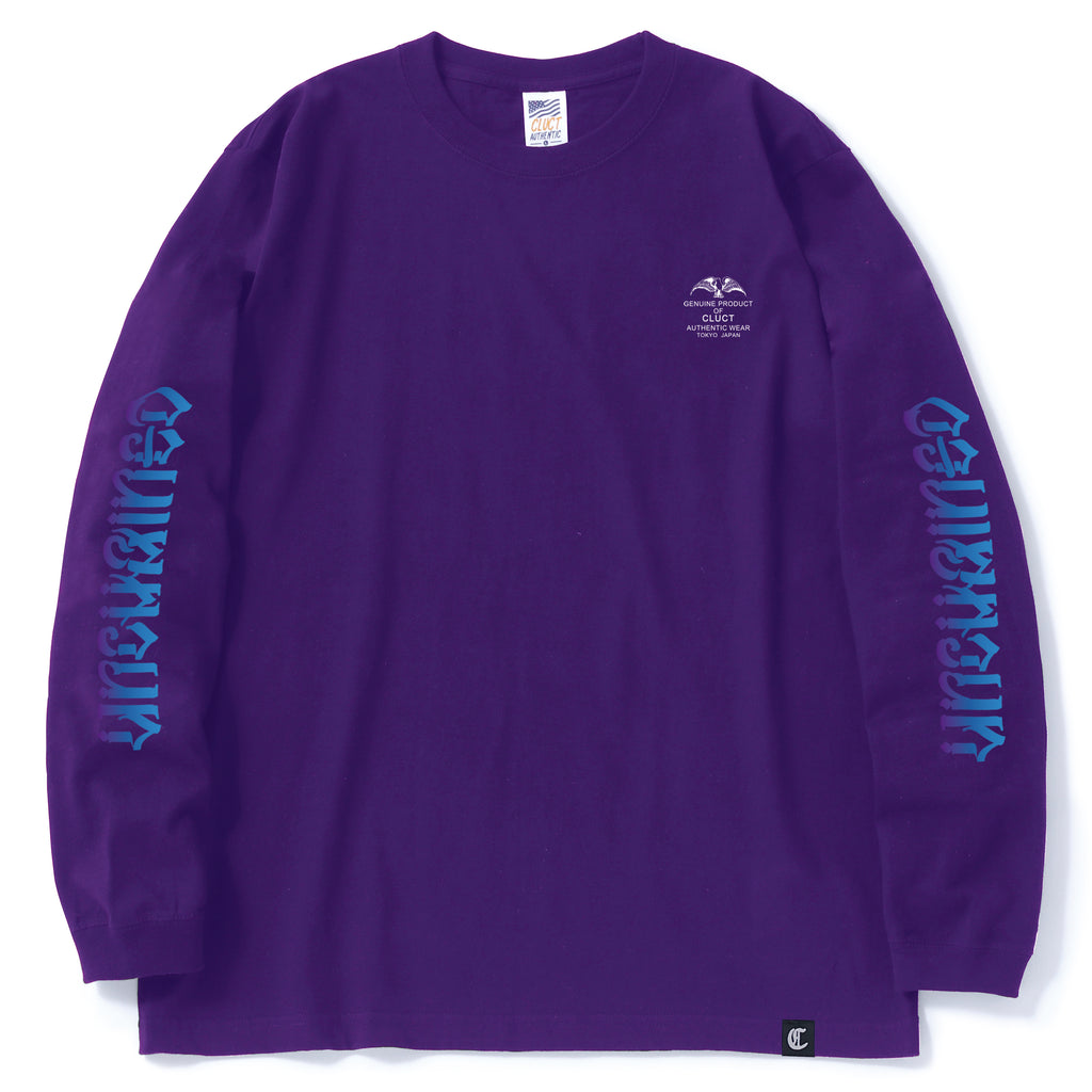 UNCHAINED GRADATION L/S TEE 02995