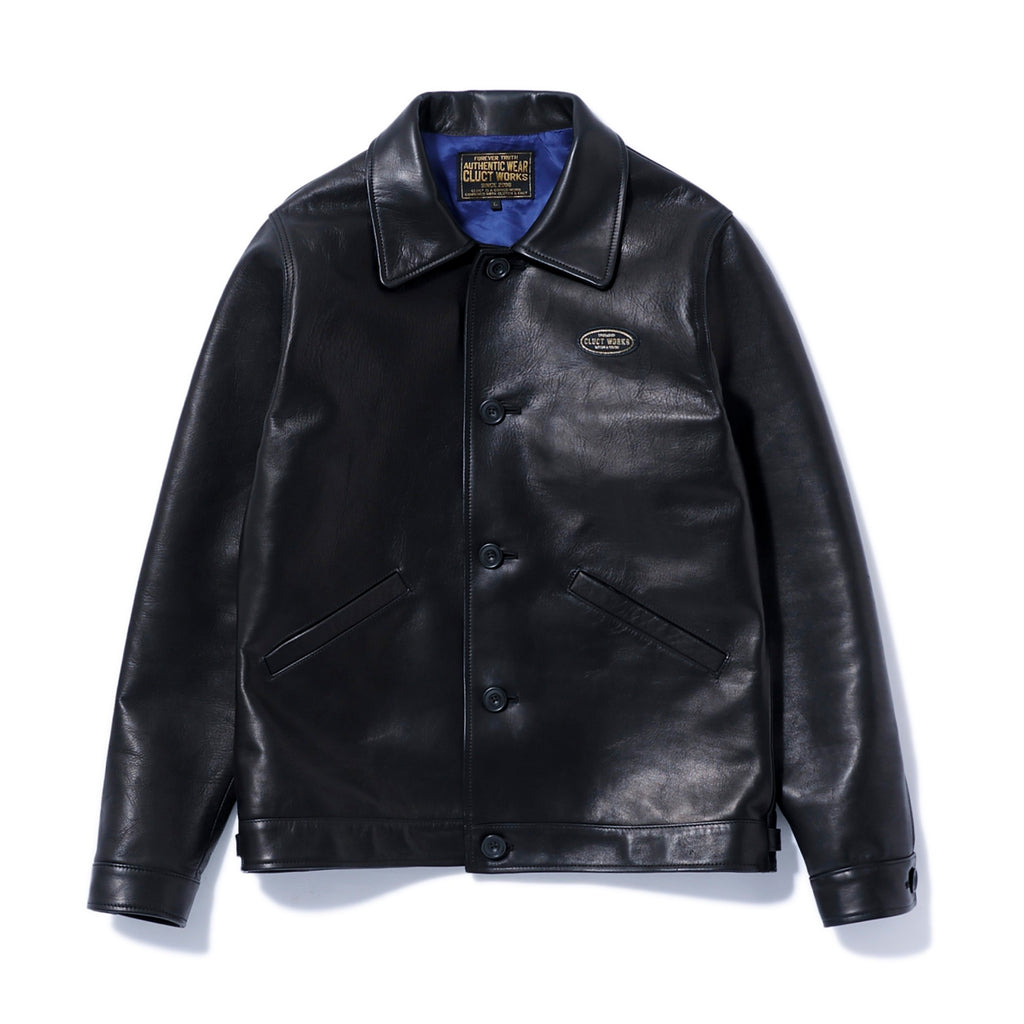 CW-LEATHER JKT 03062 - CLUCT