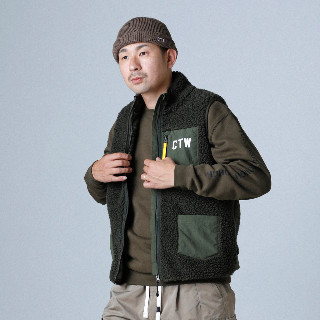 CTW-FLEECE VEST 03068