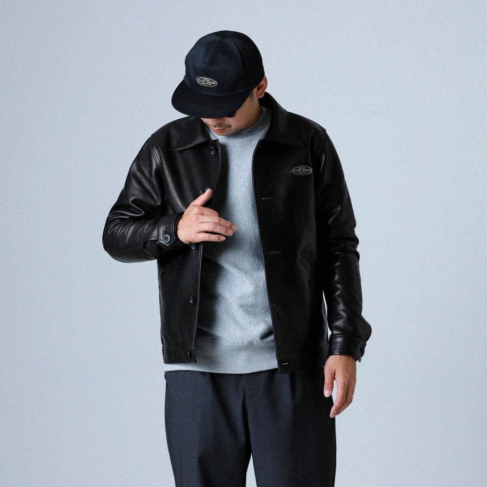 CW-LEATHER JKT 03062