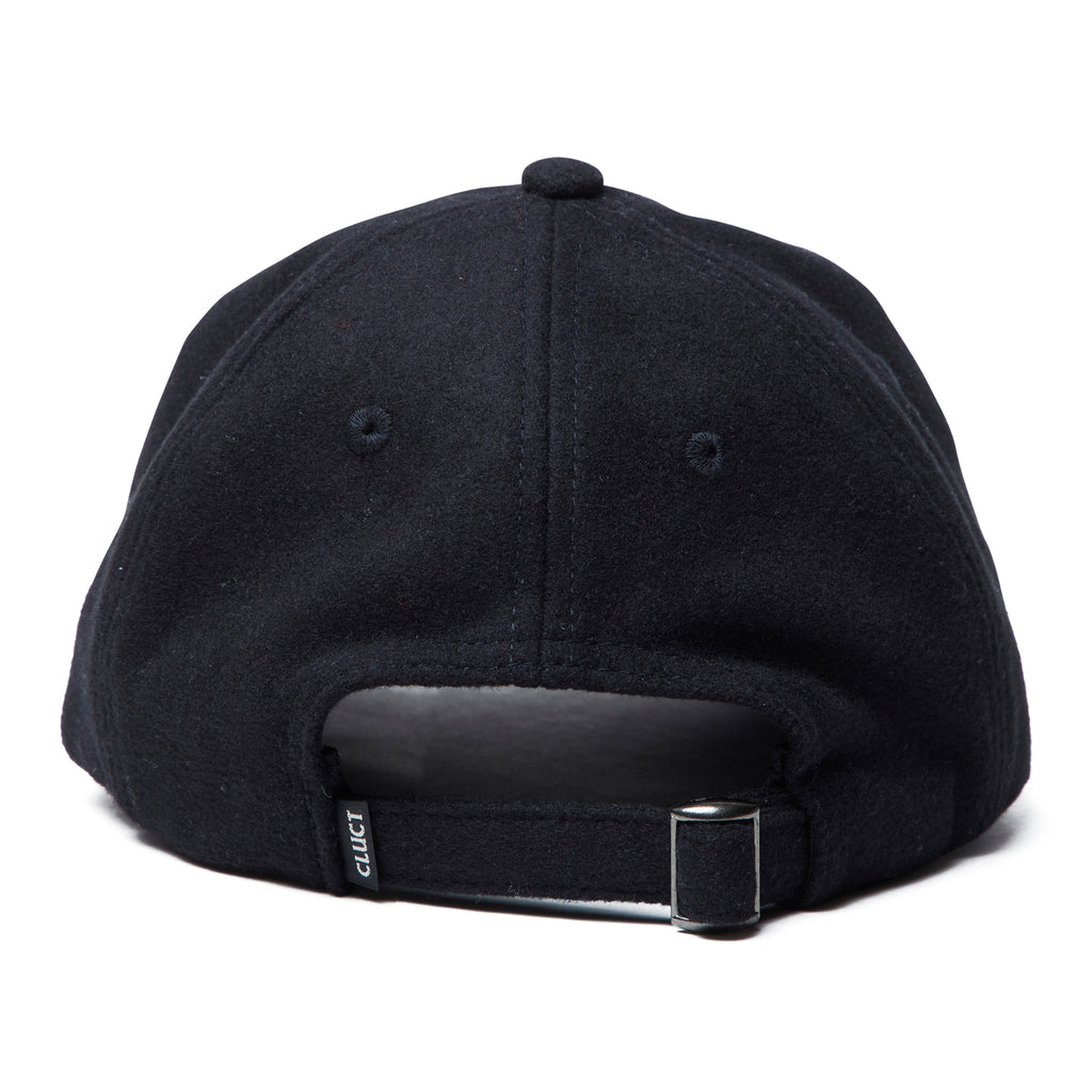 WOOL CURVED BRIM CAP