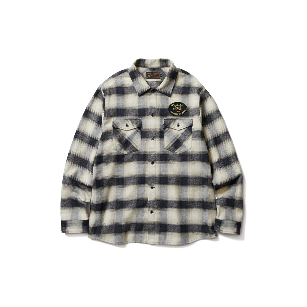 L/S FLANNEL CHECK SHIRT