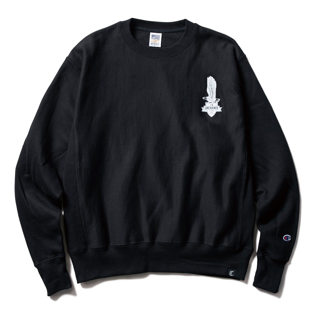 CHAMPION SIGN BOARDS CREW SWEAT