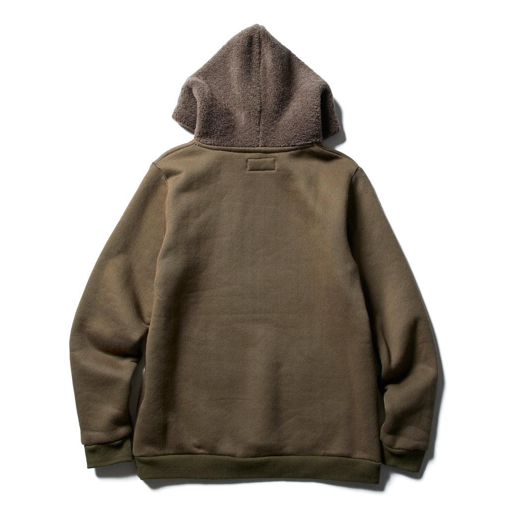 HOODED BOA PARKA