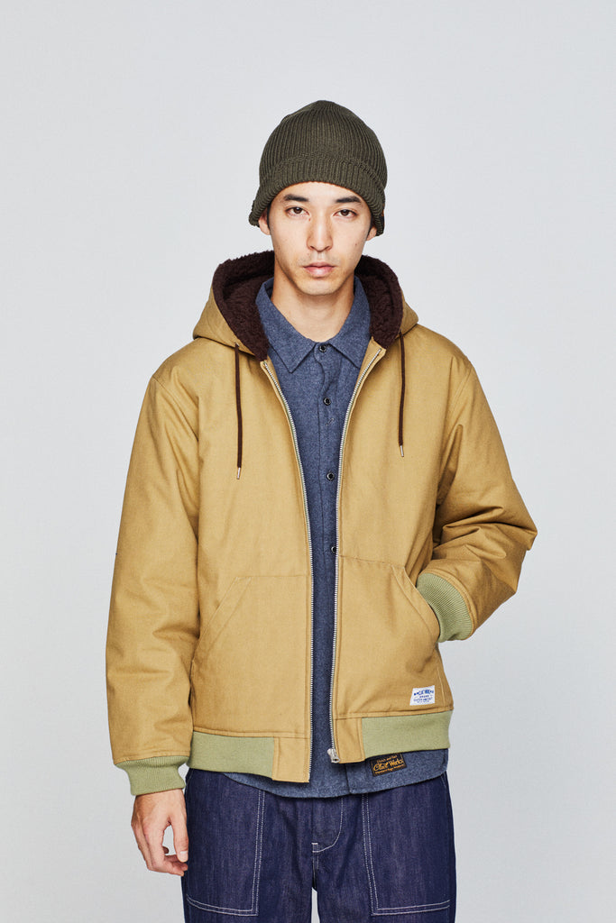 HOODED BOA JKT