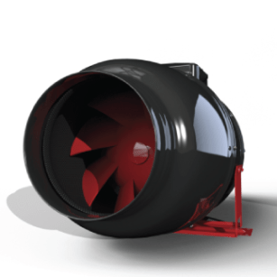 Black Orchid Silent Hybrid Flo - Hybrid Extractor Fan - 6 diameters available