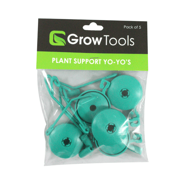Grow Tools Plant Support Yoyos - plant trainer - pack of 5