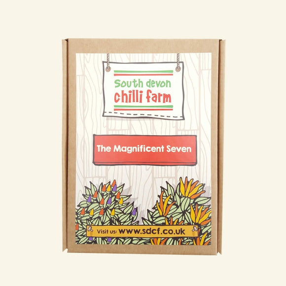 The Magnificent 7 Chilli Seed Gift Set
