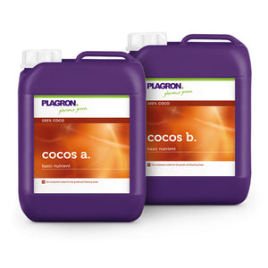 Plagron Cocos A and B Base Nutrient