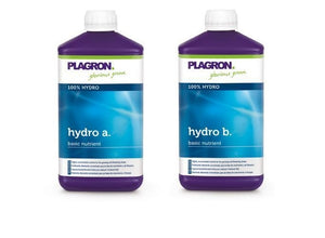 Plagron Hydro A and B Base Nutrient 1 Litre