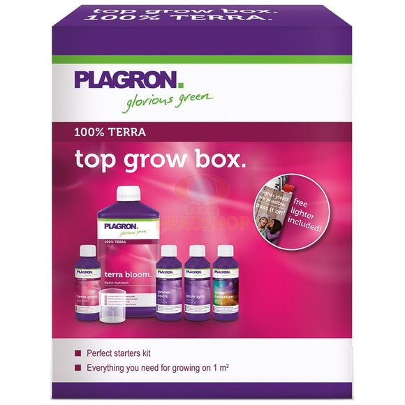 Plagron Grow Top Box 100% Terra - Full Soil Medium Nutrient Kit