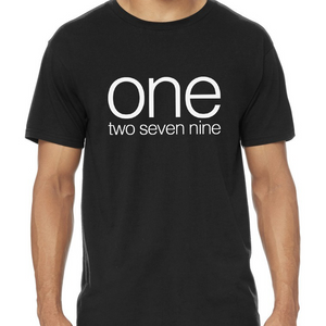 **SECOND BATCH PREORDER** Limited ONE two seven nine tee!
