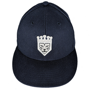 Navy Primo Fitted Baseball Hat