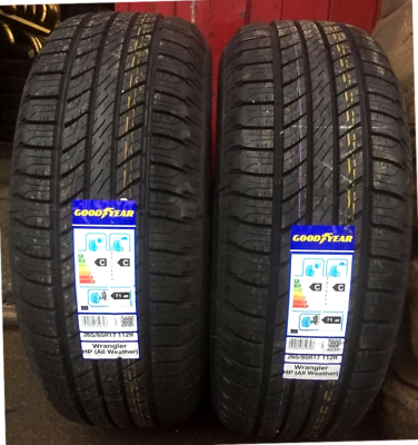 265-65-17 112H Goodyear Wrangler HP All Weather M+S NEW 1X Tyre