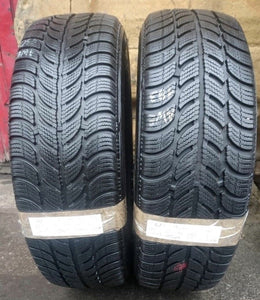 185-60-15 88T Sava Eskimo S3 Winter 2X Tyres Pair Extra Load XL 6 mm WinSava15