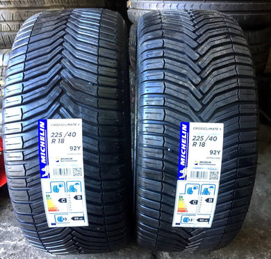 225-40-18 92Y Michelin Total Performance Summer Tyre New Michelin Crossclimate +