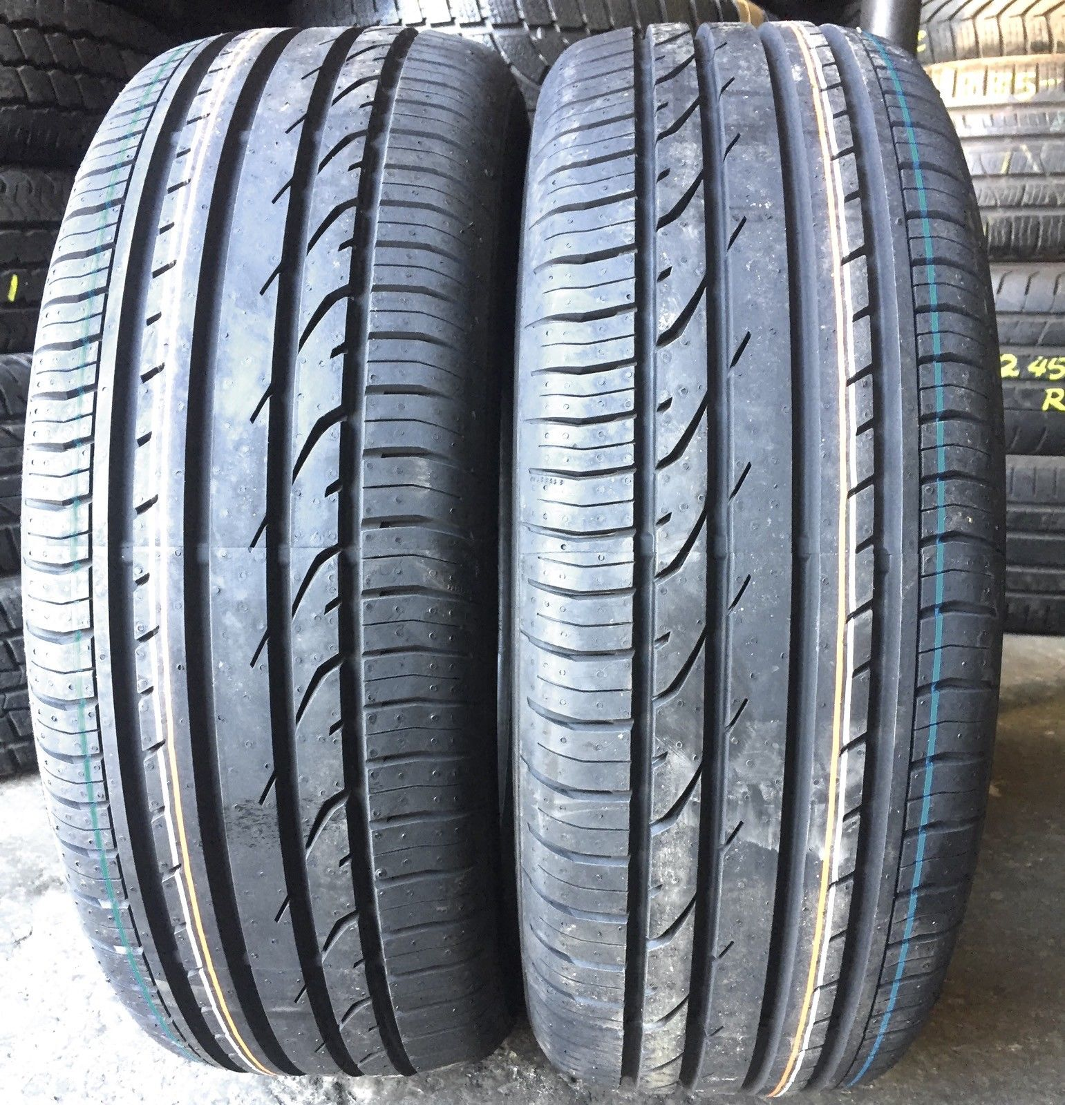 205-55-16 91V Continental ContiPremiumContact2 Summer Tyres  R.New Continental