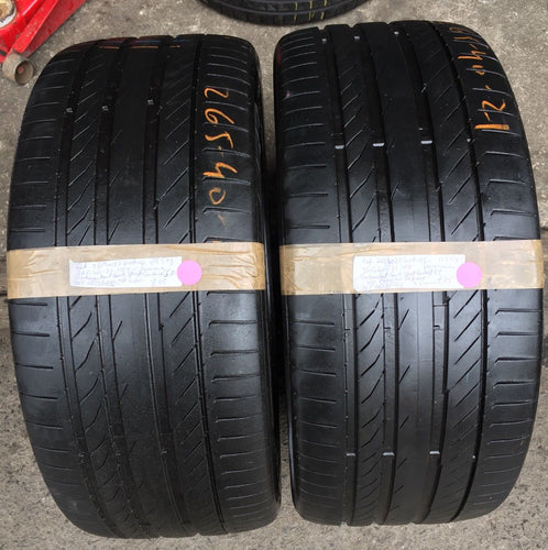 265-40-21 101Y Continental ContiSportContact 5P Summer 4.5mm 2654021Cont-02