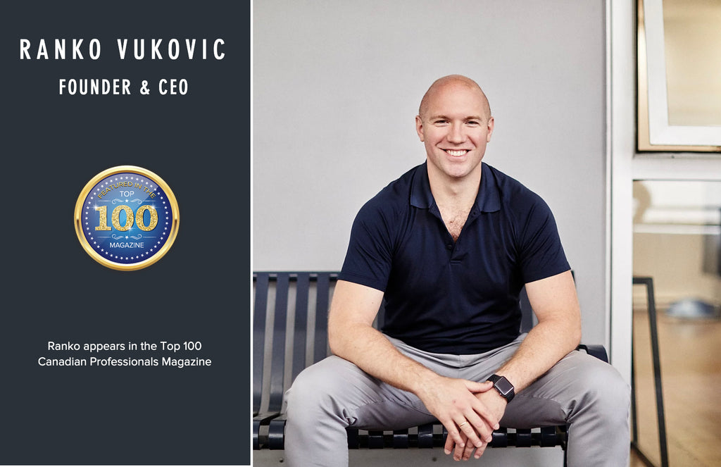 Ranko Vukovic featured as one of Canada's TOP 100 Professionals for year 2020