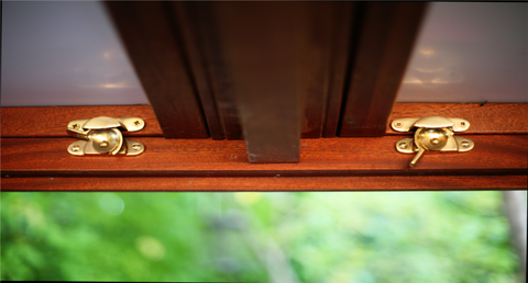brass latches